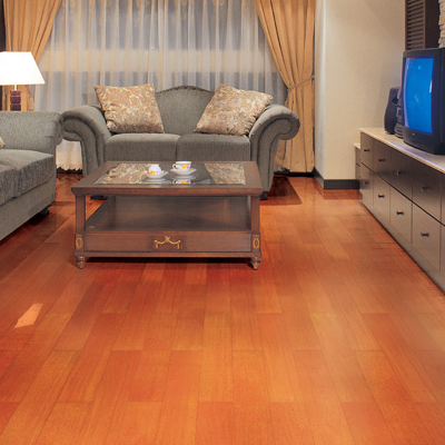 简约客厅木地板贴